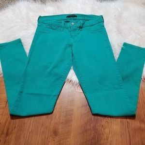 Flying Monkey green skinny jeans